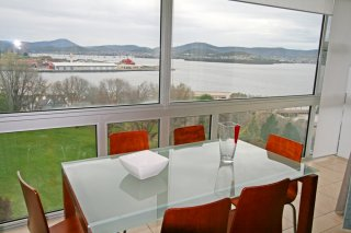 View from Empress Towers Battery Square Battery Point Salamanca Realty Real estate Tasmania